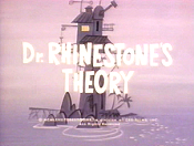 Dr. Rhinestone's Theory Cartoon Character Picture