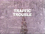 Traffic Trouble Cartoon Character Picture
