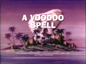 A Voodoo Spell Cartoon Picture