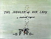 The Juggler Of Our Lady Cartoon Picture