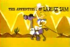 The Adventures of Lariat Sam Episode Guide Logo