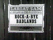 Rock-a-bye Badlands Cartoon Character Picture