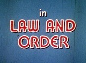 Law And Order Picture Of Cartoon