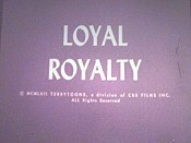 Loyal Royalty Cartoon Picture