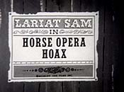 Horse Opera Hoax Cartoon Picture