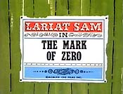 The Mark Of Zero Free Cartoon Picture