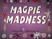 Magpie Madness Cartoon Picture