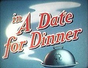 A Date for Dinner Cartoons Picture