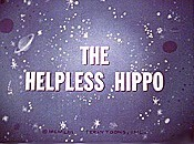 The Helpless Hippo Cartoon Character Picture
