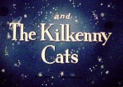 The Kilkenny Cats Picture Into Cartoon