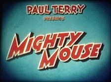 Mighty Mouse Theatrical Cartoon Series Logo