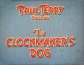 The Clockmaker's Dog Cartoon Picture