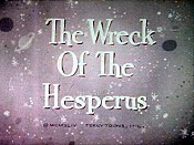 The Wreck Of The Hesperus The Cartoon Pictures