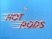 Hot Rods Free Cartoon Picture