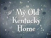 My Old Kentucky Home Picture Of Cartoon