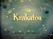 Krakatoa The Cartoon Pictures
