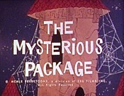 The Mysterious Package Cartoon Character Picture