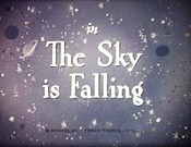 The Sky Is Falling Cartoon Funny Pictures