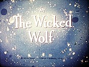 The Wicked Wolf Picture Into Cartoon