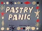 Pastry Panic Cartoon Picture