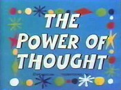 The Power Of Thought Free Cartoon Picture