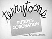 Puddy's Coronation Picture Of Cartoon