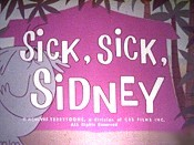 Sick, Sick, Sidney Pictures To Cartoon