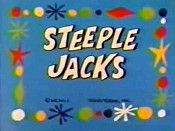 Steeple Jacks Cartoon Picture