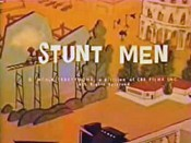 Stunt Men Picture Into Cartoon