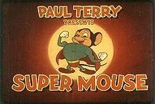 Super Mouse Theatrical Cartoon Series Logo