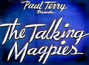 The Talking Magpies Picture Into Cartoon