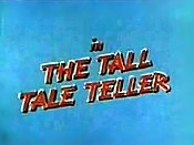 Tall Tale Teller Picture Into Cartoon
