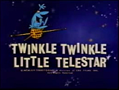 Twinkle, Twinkle Little Telestar Free Cartoon Picture