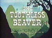 The Toothless Beaver Cartoon Character Picture