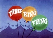 Three Ring Fling Free Cartoon Picture