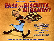 Pass The Biscuits Mirandy! Free Cartoon Picture