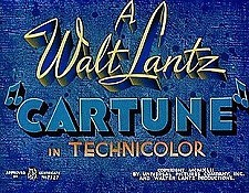 Cartune Theatrical Cartoon Series Logo