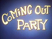 Coming Out Party Cartoon Character Picture
