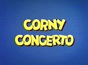 Corny Concerto Free Cartoon Picture