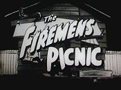 Firemen's Picnic Picture Of Cartoon