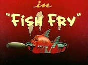 Fish Fry Free Cartoon Picture