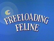 Freeloading Feline The Cartoon Pictures