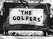 The Golfers Cartoon Character Picture
