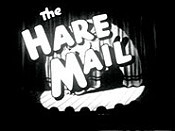 The Hare Mail Cartoon Picture
