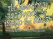 The Amazing Recovery Of Inbad The Ailer Cartoon Picture
