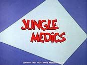 Jungle Medics Cartoon Character Picture