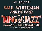 The King Of Jazz Unknown Tag: 'pic_title'