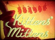 Kittens' Mittens Free Cartoon Pictures