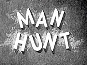 Man Hunt Cartoon Picture