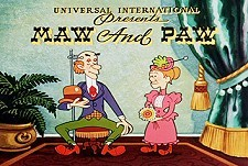 Maw and Paw Theatrical Cartoon Series Logo
